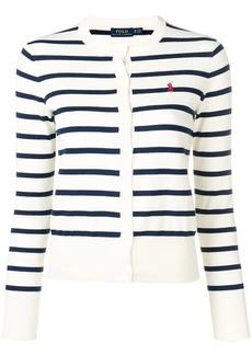 Ralph Lauren: Polo striped knit cardigan