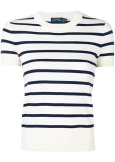 Ralph Lauren: Polo striped knitted top
