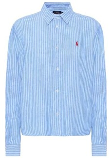 Ralph Lauren: Polo Striped linen shirt