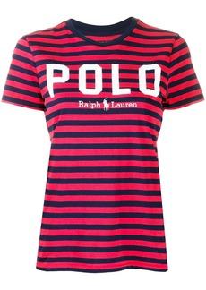 Ralph Lauren: Polo striped logo T-shirt