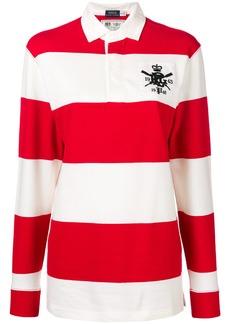 Ralph Lauren: Polo striped long-sleeve polo top