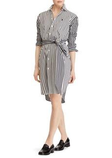 Ralph Lauren: Polo Striped Long Sleeve Shirt Dress