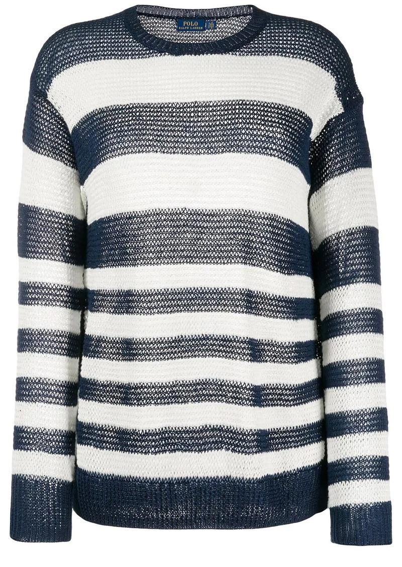 Ralph Lauren: Polo striped loose-fit jumper