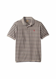 Ralph Lauren: Polo Striped Performance Jersey Polo (Big Kids)