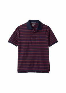 Ralph Lauren: Polo Striped Performance Jersey Polo (Big Kids)
