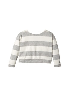 Ralph Lauren: Polo Striped Ponte Top (Toddler)