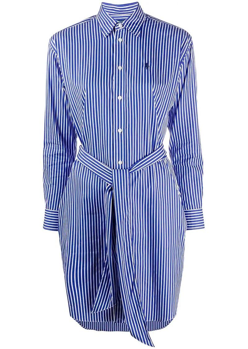Ralph Lauren: Polo striped poplin shirt dress
