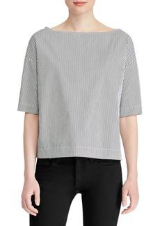 Ralph Lauren: Polo Striped Pullover Shirt