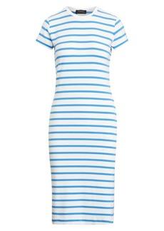 Ralph Lauren: Polo Striped Short-Sleeve T-Shirt Dress