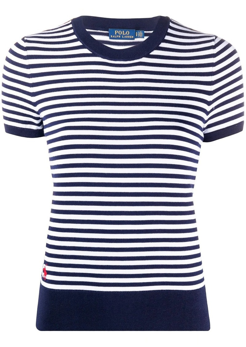 Ralph Lauren: Polo striped short-sleeve top