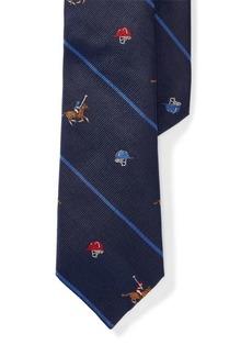Ralph Lauren Polo Striped Silk Tie