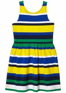 Ralph Lauren: Polo Striped Stretch Jersey Dress (Little Kids/Big Kids)
