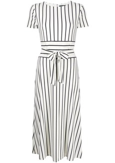 Ralph Lauren: Polo striped tie-waist dress
