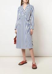 Ralph Lauren: Polo striped wrap dress