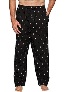 Ralph Lauren Polo Tall All Over Pony Player Woven Pants