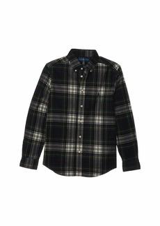 Ralph Lauren: Polo Tartan Cotton Corduroy Shirt (Big Kids)