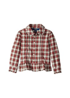 Ralph Lauren: Polo Tartan Cotton Shirt (Toddler)