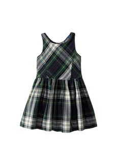 Ralph Lauren: Polo Tartan Fit-and-Flare Dress (Toddler)