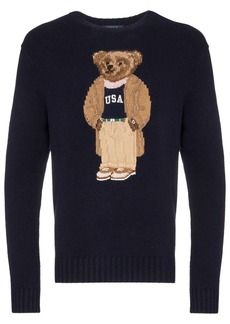 Ralph Lauren Polo Teddy Bear intarsia jumper