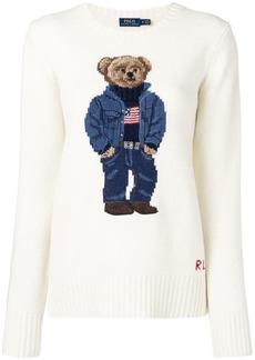 Ralph Lauren: Polo teddy bear intarsia sweater