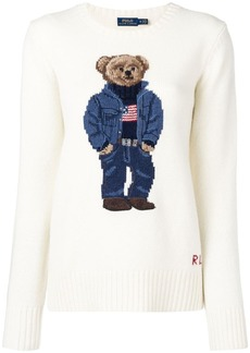 Ralph Lauren: Polo teddy bear intarsia sweater