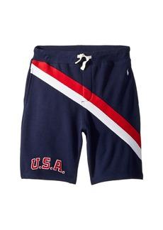 Ralph Lauren: Polo Terry Shorts (Big Kids)