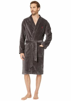Ralph Lauren Polo Terry Velour Long Sleeve Kimono Robe