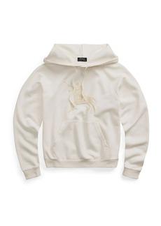 Ralph Lauren: Polo Textured Logo Hoodie