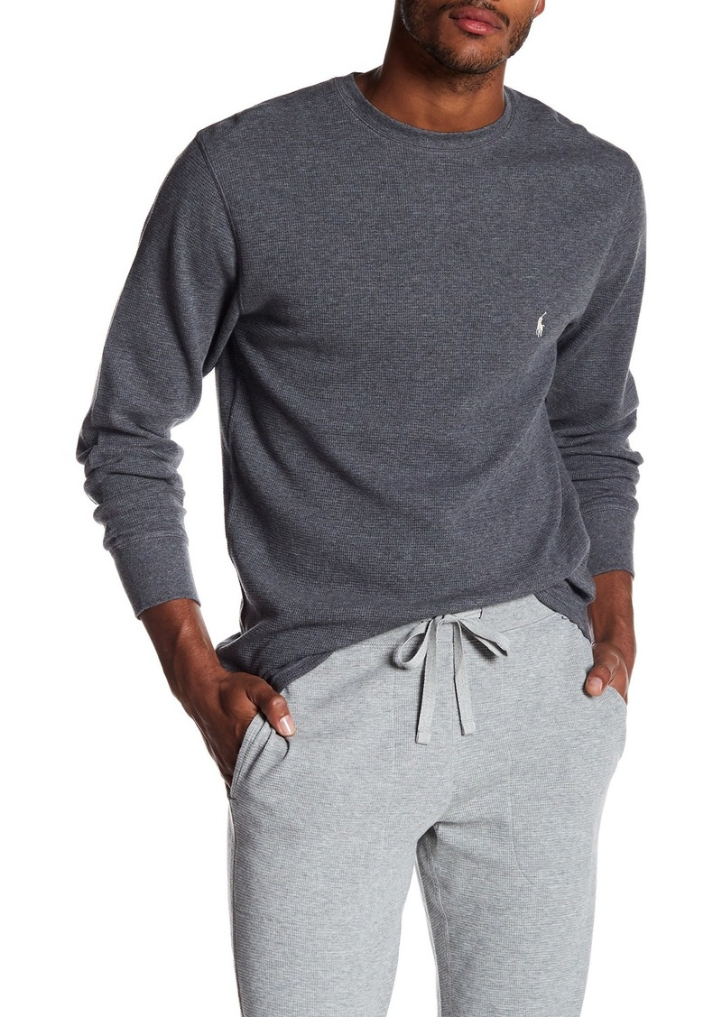 Ralph Lauren Polo Thermal Crew Neck Long Sleeve Lounge T-Shirt