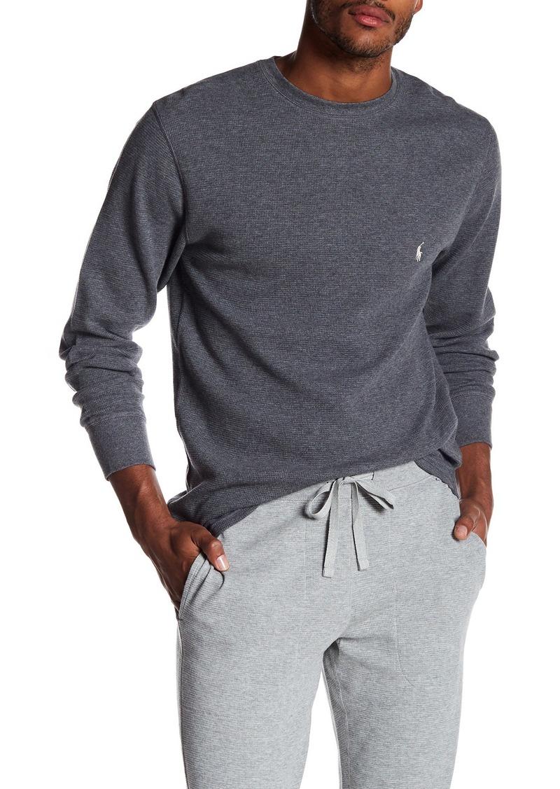 Ralph Lauren Polo Thermal Crew Neck Long Sleeve Lounge T-Shirt