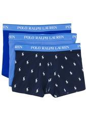 Ralph Lauren Polo three-pack logo waistband boxers