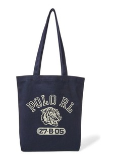 Ralph Lauren Polo Tiger Canvas Tote