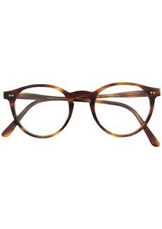 Ralph Lauren Polo tortoiseshell round frame glasses