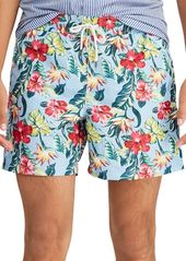 Ralph Lauren Polo Traveler Floral Swim Trunks