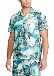 Ralph Lauren Polo Tropical Stretch Woven Short Sleeve PJ Top