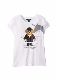 Ralph Lauren: Polo Unicorn Bear Cotton Jersey Tee (Little Kids/Big Kids)