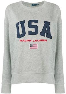 Ralph Lauren: Polo USA logo jumper