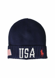 Ralph Lauren Polo USA Stadium Cuff Hat