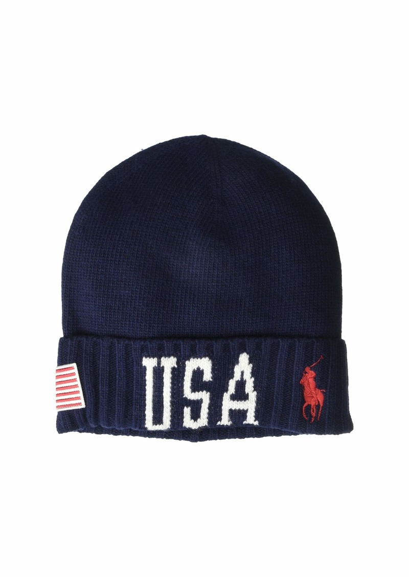 Ralph Lauren Polo USA Stadium Cuff Hat
