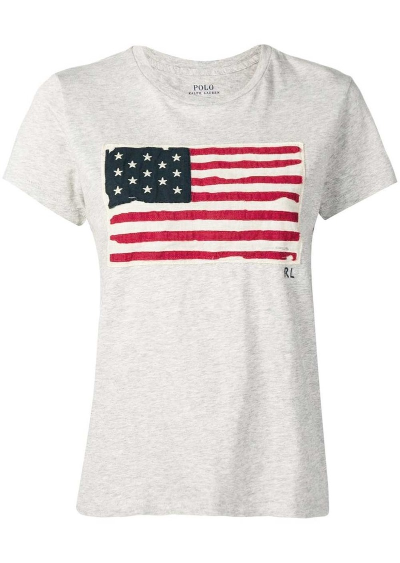 Ralph Lauren: Polo vintage flag T-shirt
