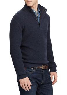Ralph Lauren Polo Waffle-Knit Merino Sweater