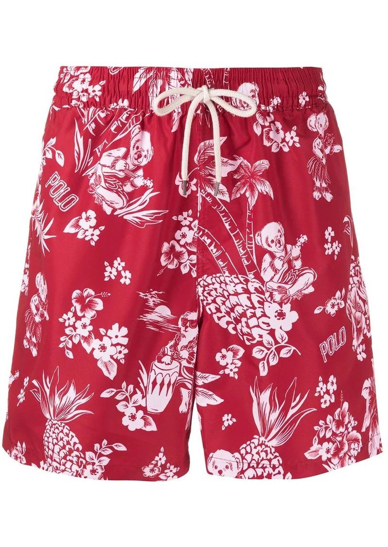 Ralph Lauren Polo Waiian print swim shorts