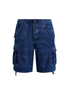 Ralph Lauren Polo Washed Cotton Ripstop Cargo Shorts