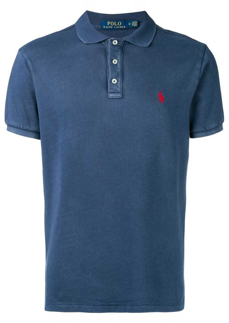 Ralph Lauren Polo washed effect polo shirt