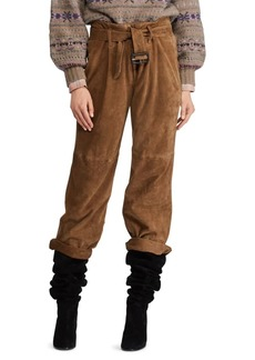 Ralph Lauren: Polo Washed Goat Suede Pants