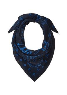 Ralph Lauren: Polo Washed Silk Bandana Scarf