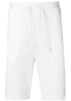 Ralph Lauren Polo white logo track shorts