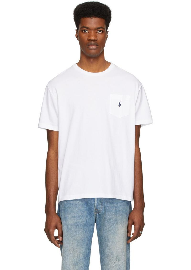 Ralph Lauren Polo White Pocket T-shirt