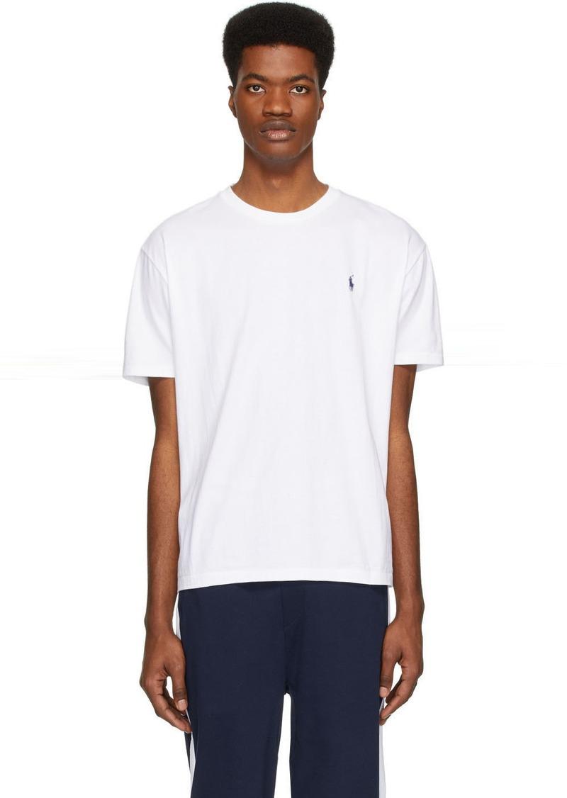 Ralph Lauren Polo White Pony Logo T-Shirt