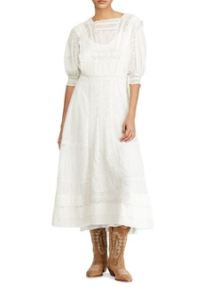 Ralph Lauren: Polo Wilow Cotton Lace Dress